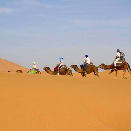 5 Day Trip Fes to Marrakech with camel trek in Merzouga desert